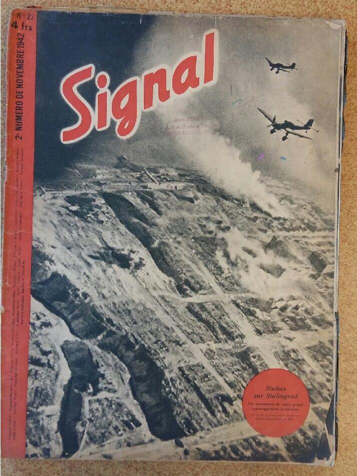 Estimation - revues Signal français - 1941 à 1943 20180915