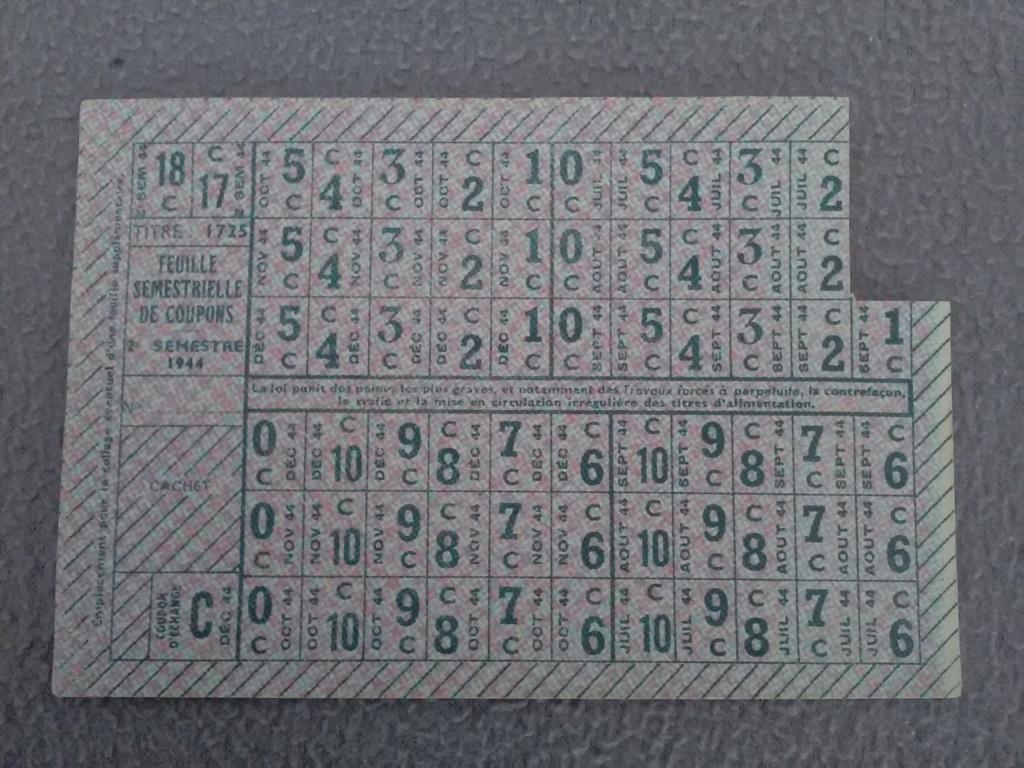 """Rationnement -  Feuilles """"suppléments"""" et """"feuilles secondaires de tickets"""" Img_2118"""