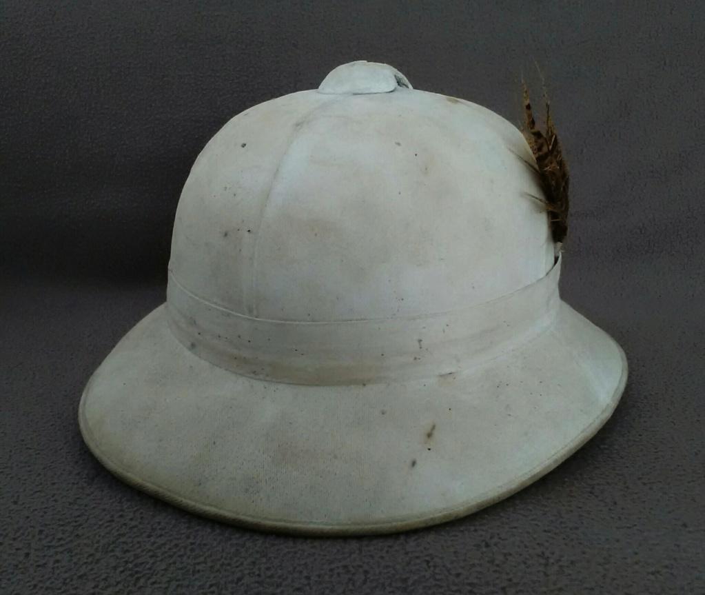 Un casque colonial modèle Wolseley d'un marin engagé en 1948 Img_2184