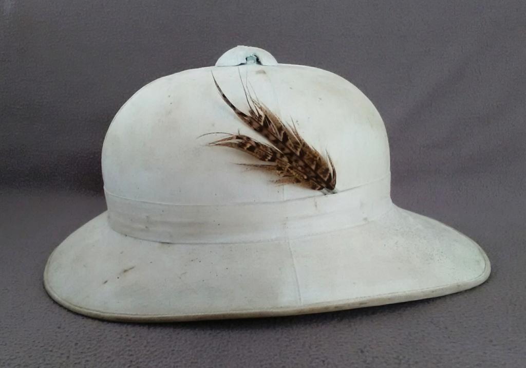 Un casque colonial modèle Wolseley d'un marin engagé en 1948 Img_2185