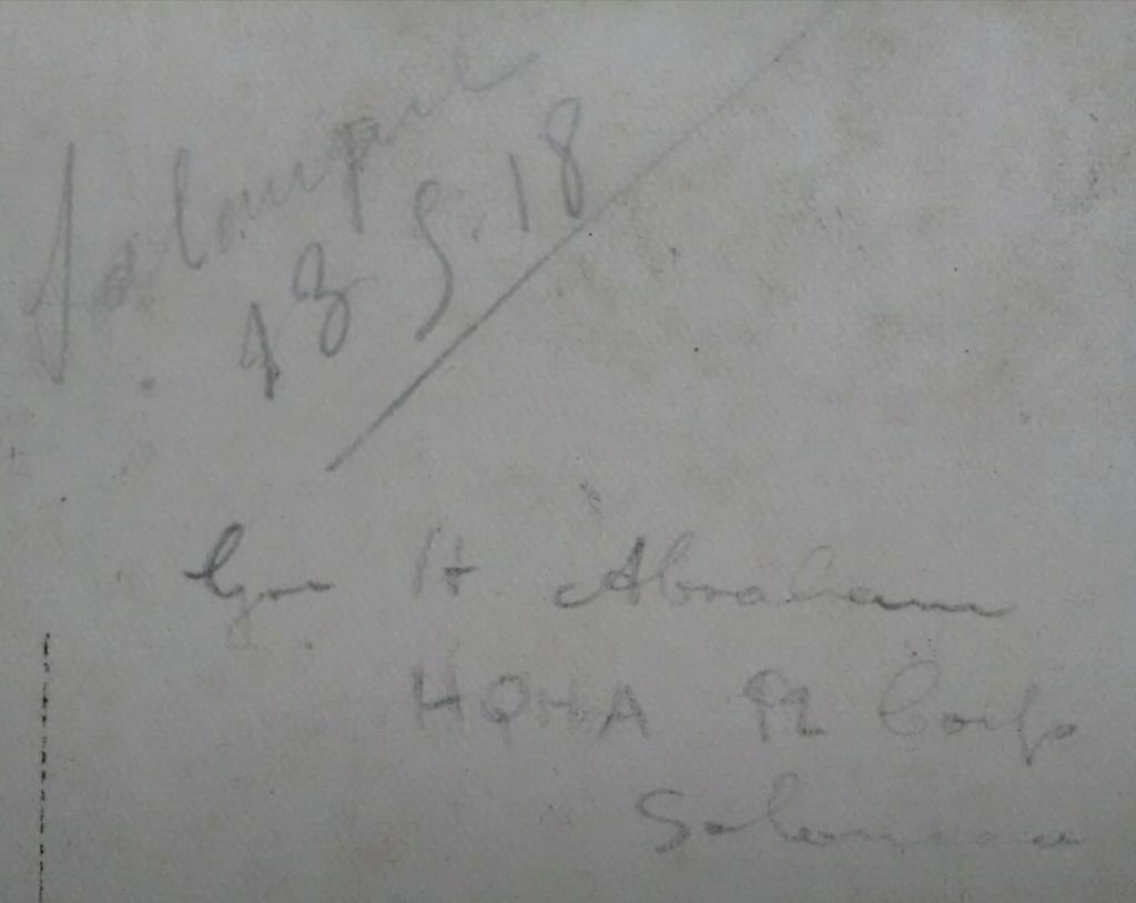 Français et Britanniques échangent leur coiffure à Salonique - mai 1918 Img_2553
