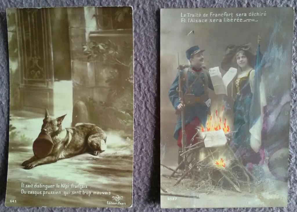 Cartes postales patriotiques françaises de la Grande Guerre - recensement Img_2593