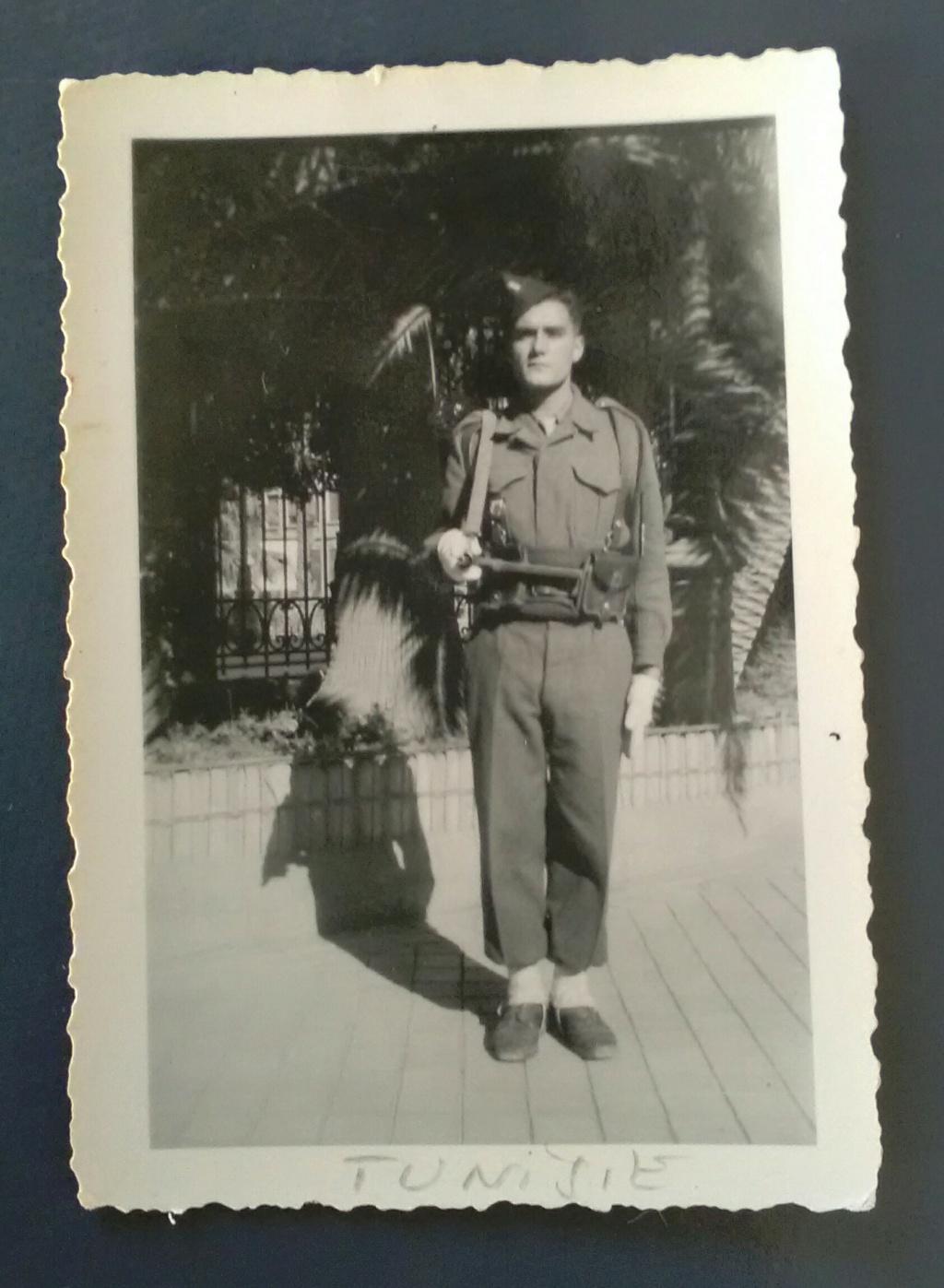 Tunis - 1949 : la garde de la Résidence Img_2687