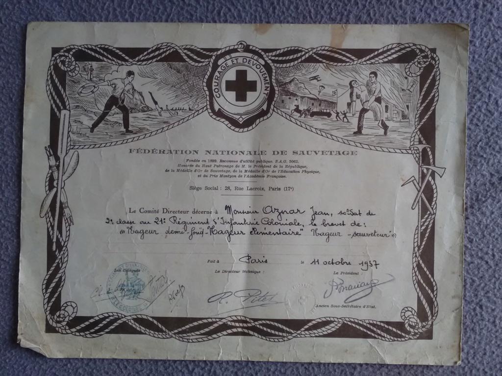 Jean AZNAR - 2ème classe au 21ème RIC - 1936/1938 Img_2803