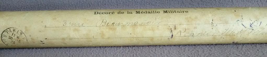 La médaille militaire pour le le lieutenant LE GOUX - Artillerie - 1923 Img_2806