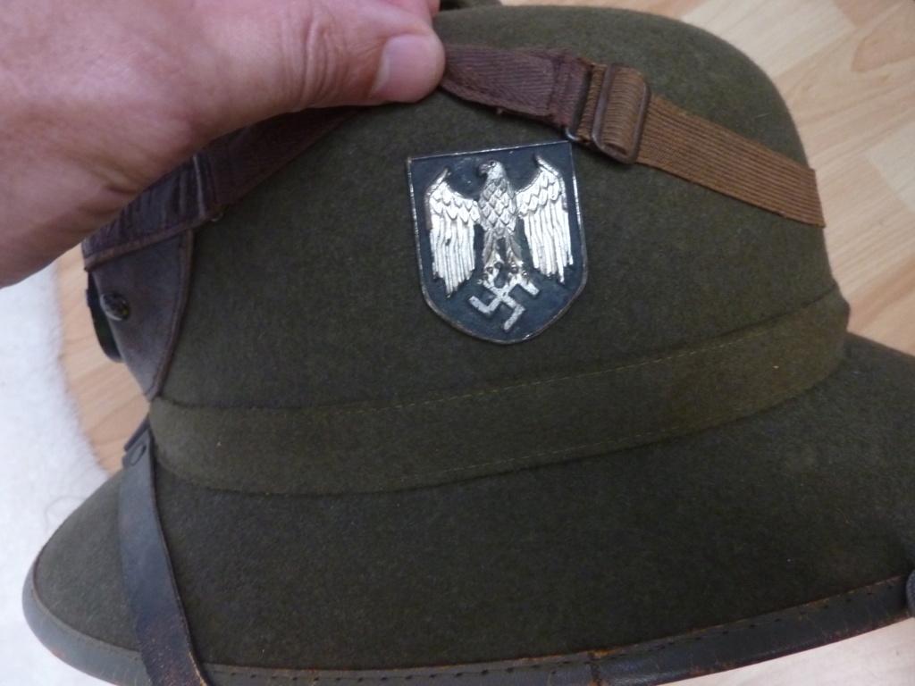 Insignes Heer - casque en feutre 2e modèle - authentification P1070511