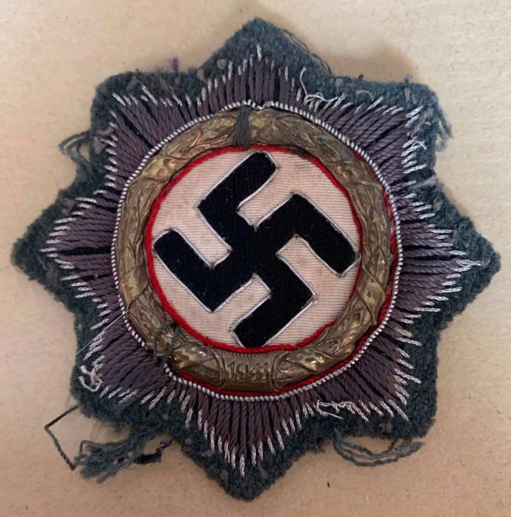 Croix allemande,  modèle tissu. Receiv11