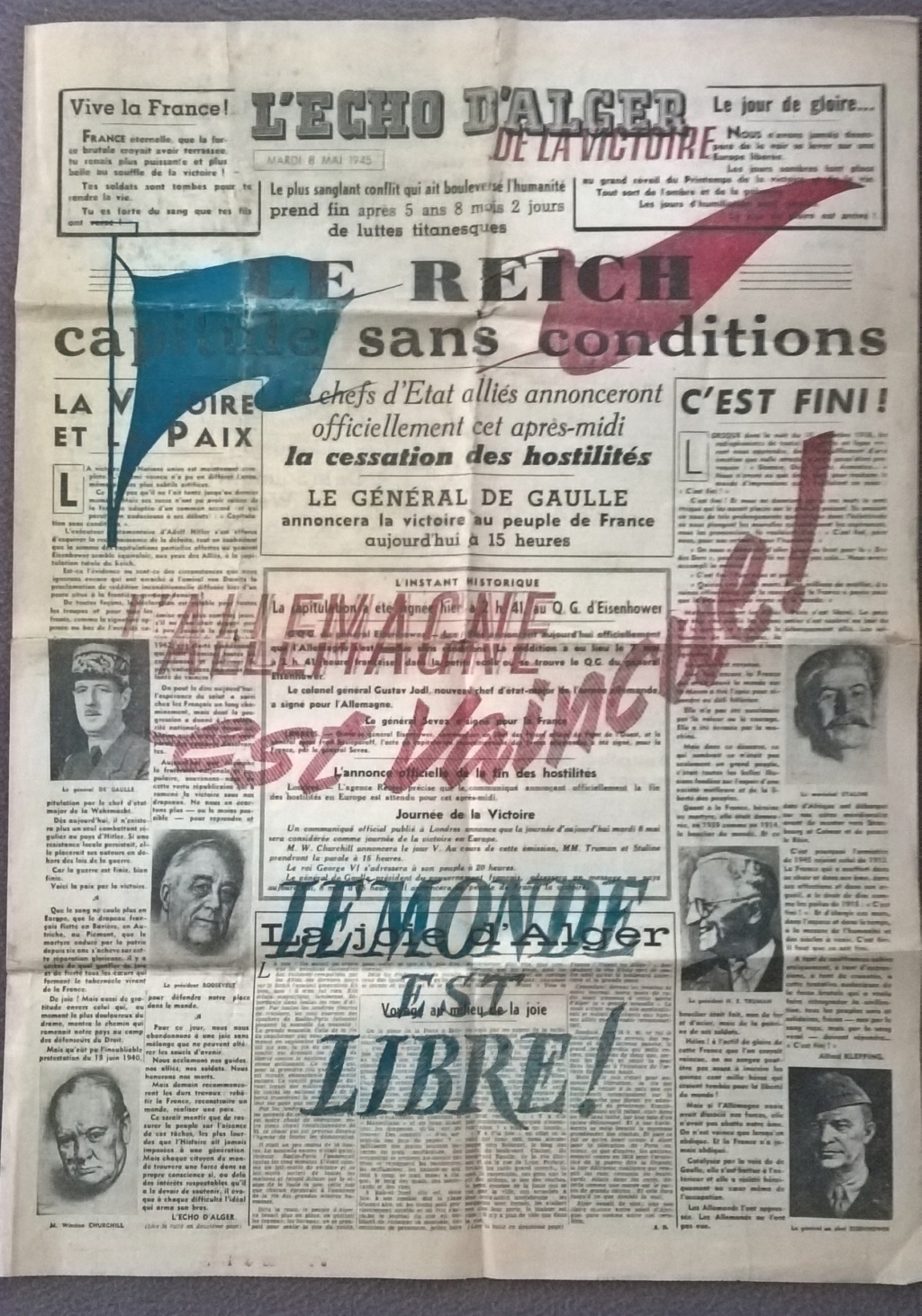 Mai-septembre 1945 : les journaux de la fin de la Seconde Guerre mondiale Wp_20200