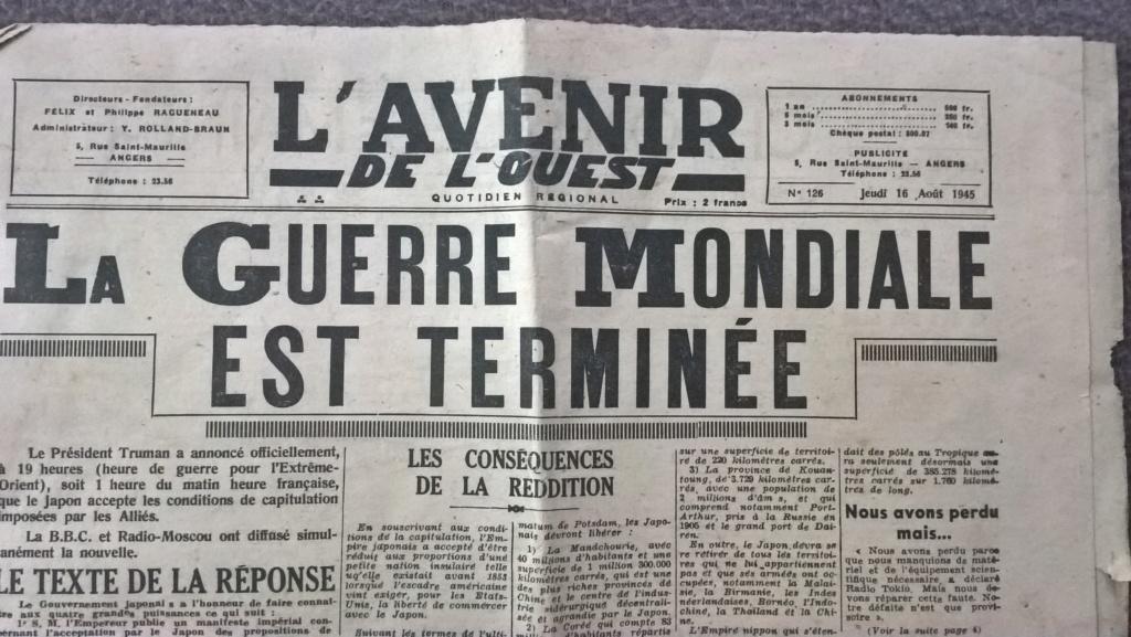 Mai-septembre 1945 : les journaux de la fin de la Seconde Guerre mondiale Wp_20202