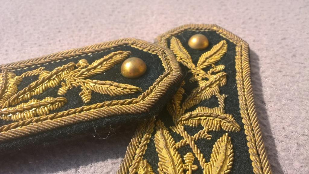 Paire d'épaulettes du corps des administrateurs des communes mixtes Wp_20451
