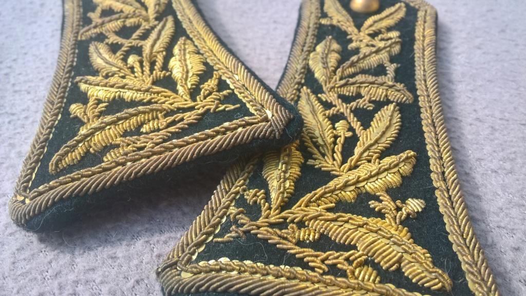 Paire d'épaulettes du corps des administrateurs des communes mixtes Wp_20452