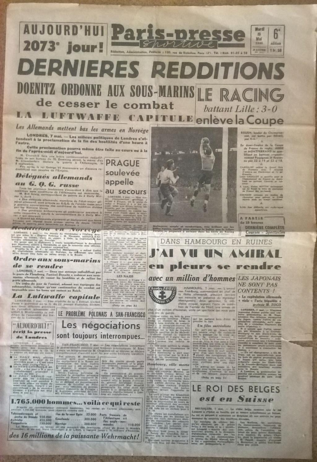 Mai-septembre 1945 : les journaux de la fin de la Seconde Guerre mondiale Wp_20549
