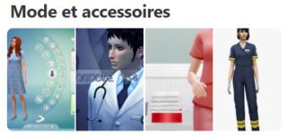 Vêtements et accessoires médical 121