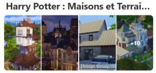 Harry Potter Maisons et lots communautaires 122