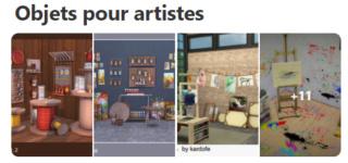Objets pour artistes 126