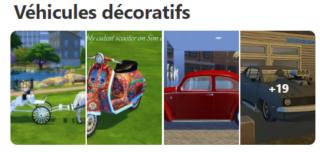 Les véhicules décoratifs  127