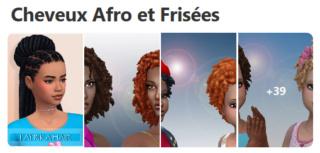 Cheveux Afro et Frisées  130