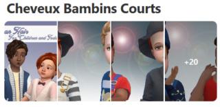 Cheveux Courts pour Garçons (Style Cartoon) 131