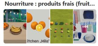 Nourriture: produits frais (fruits, légumes, viande, poissons, oeufs, produits laitiers) 817