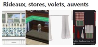 Rideaux, stores, volets et auvents 917