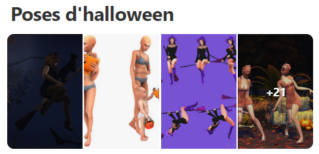 Poses d'halloween A13