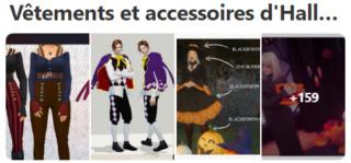 Vêtements et accessoires d'halloween Captur31