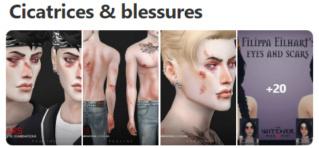 Cicatrices & blessures Captur32