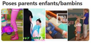 Poses Parents Enfants/Bambins Captur44