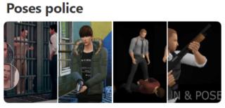 Poses Police  Captur48