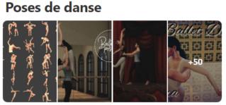 Poses de danse Captur54