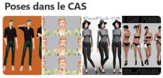 Poses dans le CAS Captur60