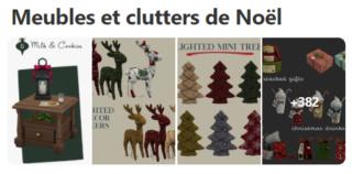 Meubles et clutters de Noël  Meuble10