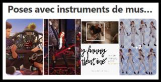 Poses avec instruments de musique Screen12