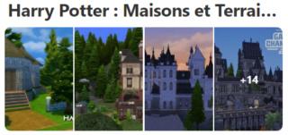 Harry Potter Maisons et lots communautaires Terrai12