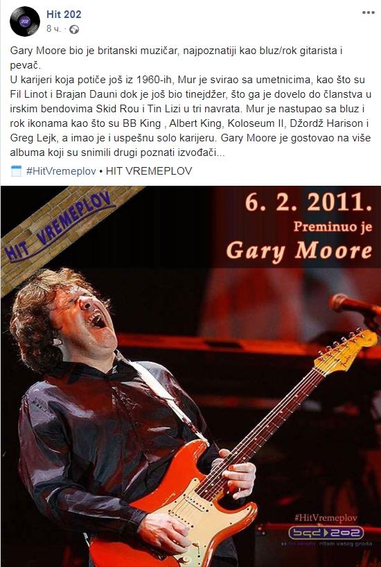 Sjećanje na gitaristu Gary Moore Scree171