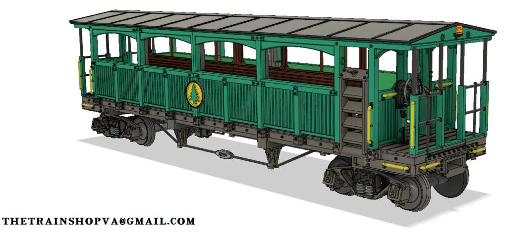 3D printing an old railway coach Cass_c10