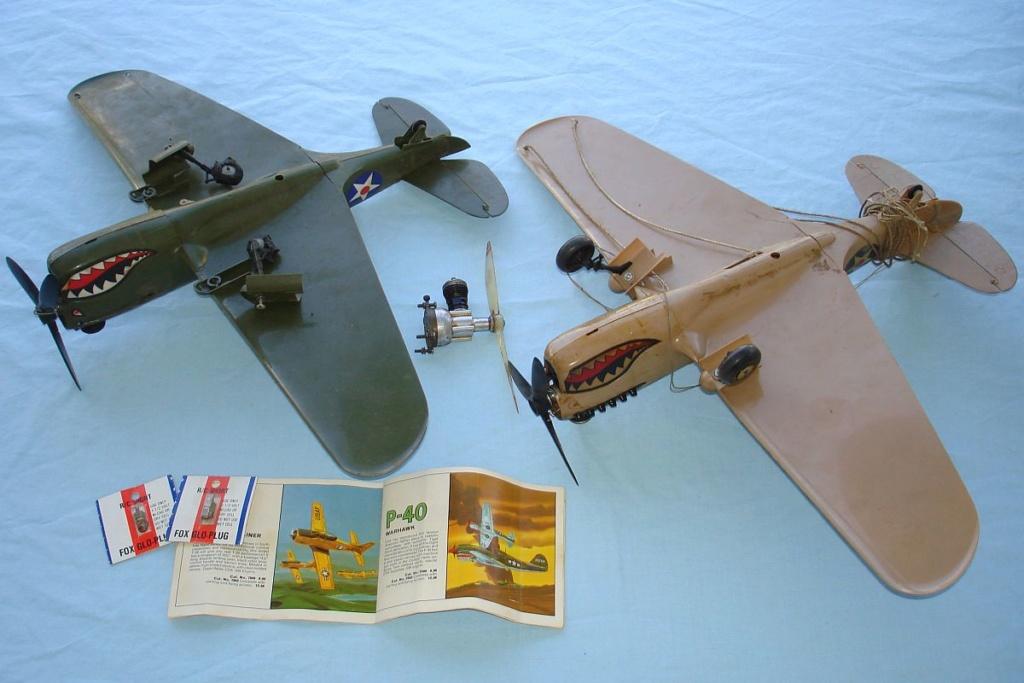 P-40 engine..........it runs Cox_p-10