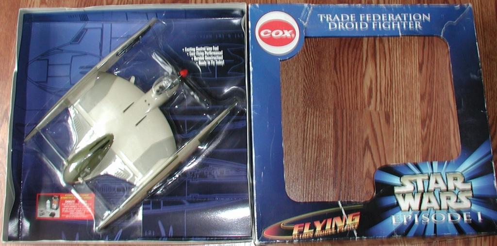 Cox/Testors ducted fan Star Wars plastic junque  Cox_st10