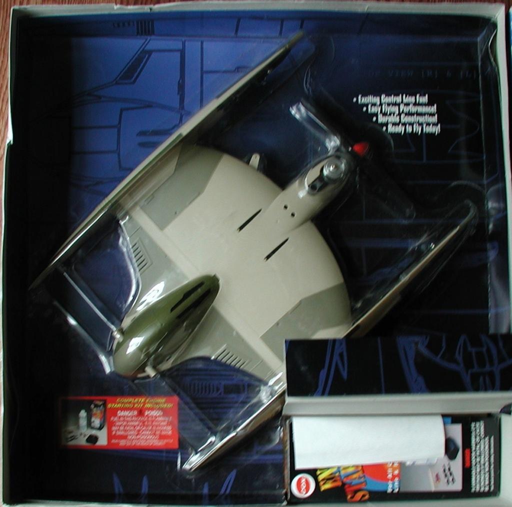 Cox/Testors ducted fan Star Wars plastic junque  Cox_st11