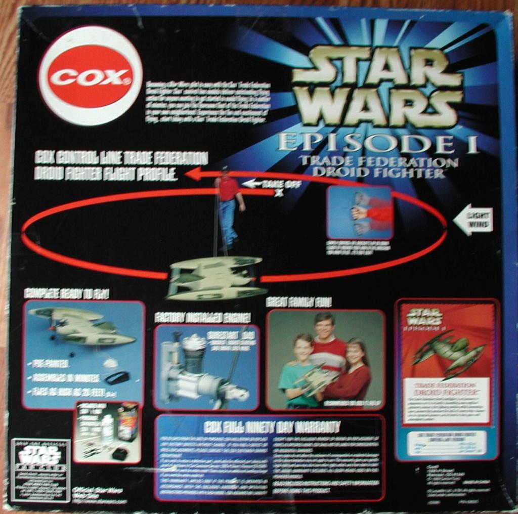 Cox/Testors ducted fan Star Wars plastic junque  Cox_st12