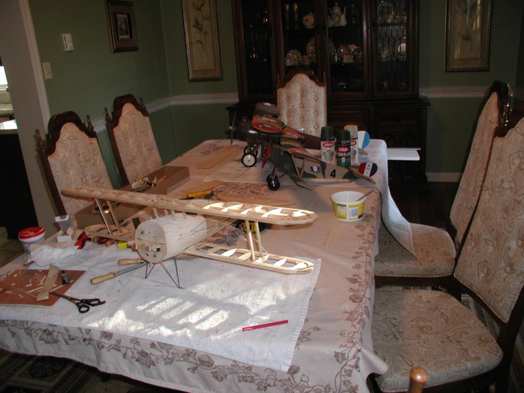 Biplane struts and covering. Enc_ni10