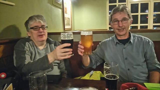 This evening's Ale + Night Cap Whiskies + Pub Food Jon_910