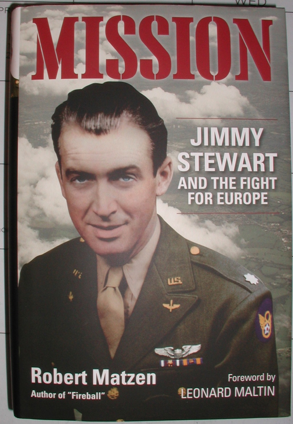 MISSION - Jimmy Stewart and the fight for Europe Missio12