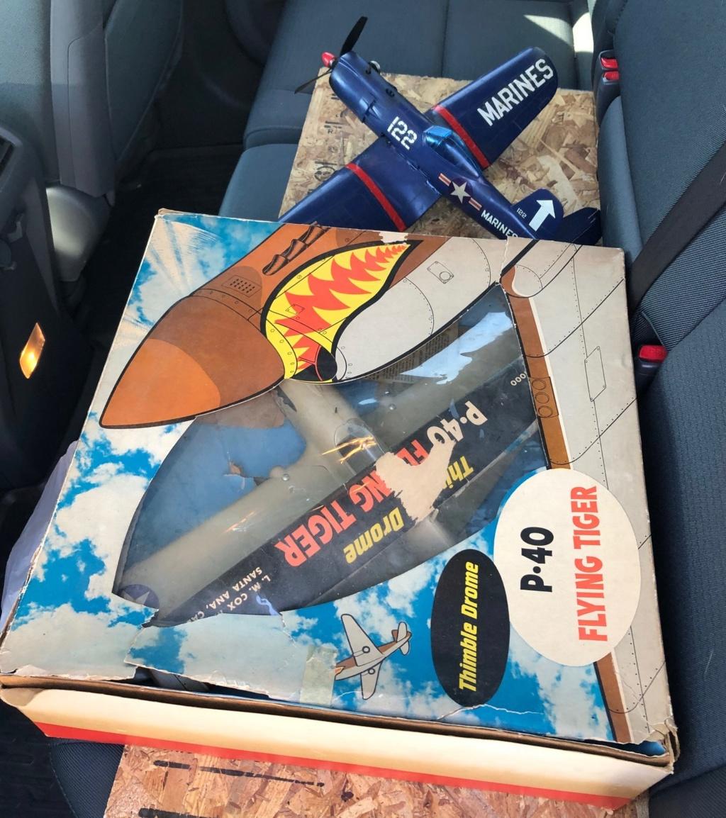 Flea market Cox P-40, F4U + receipts P-40_f11
