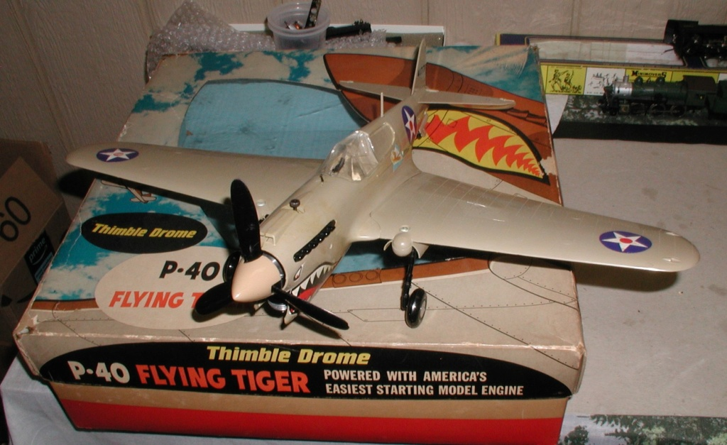 P-40 engine..........it runs P1010211