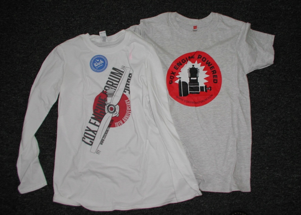 CEF Tee shirt arrives P1010250