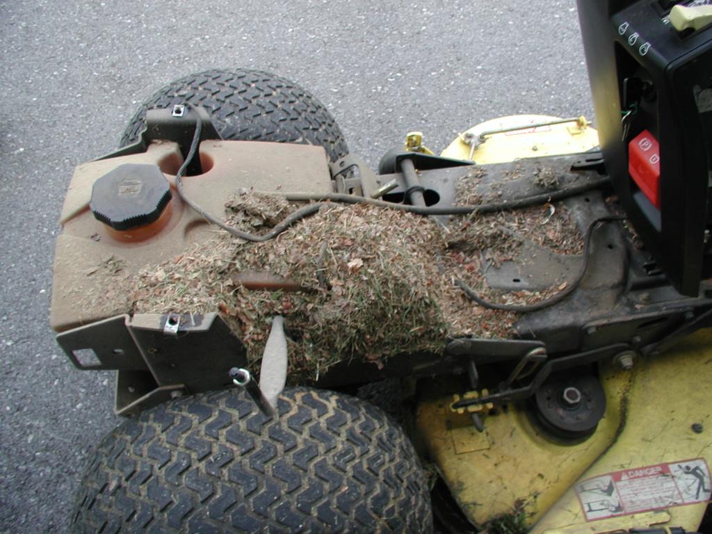 More mower stuff and misc. ramblings P1010337
