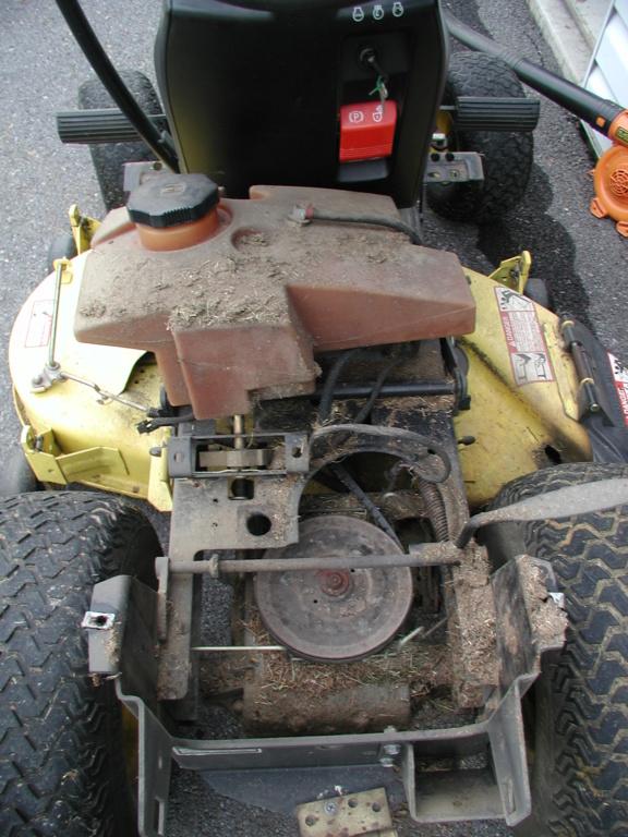 More mower stuff and misc. ramblings P1010338