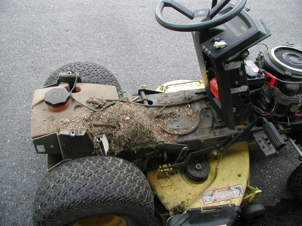 More mower stuff and misc. ramblings P1010339