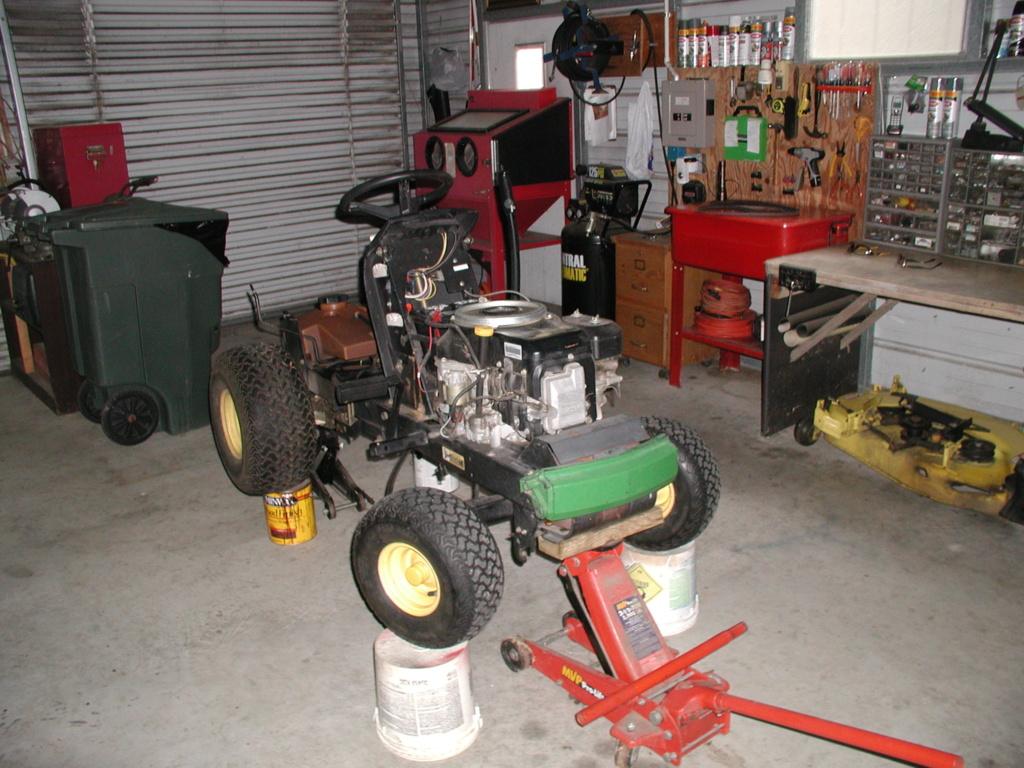 More mower stuff and misc. ramblings P1010342